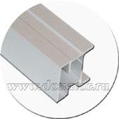 Серебро, профиль №300 ассиметричный