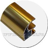 Золото глянец, профиль открытый