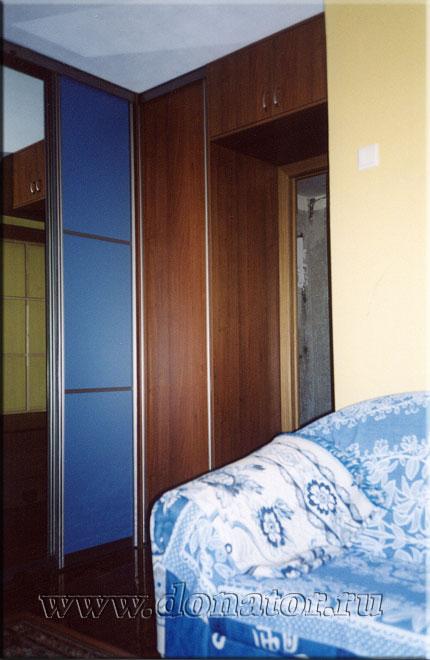 """539) шкаф-купе, """"версаль"""", цвет """"лаванда"""",""""вишня виктори"""" ::."""